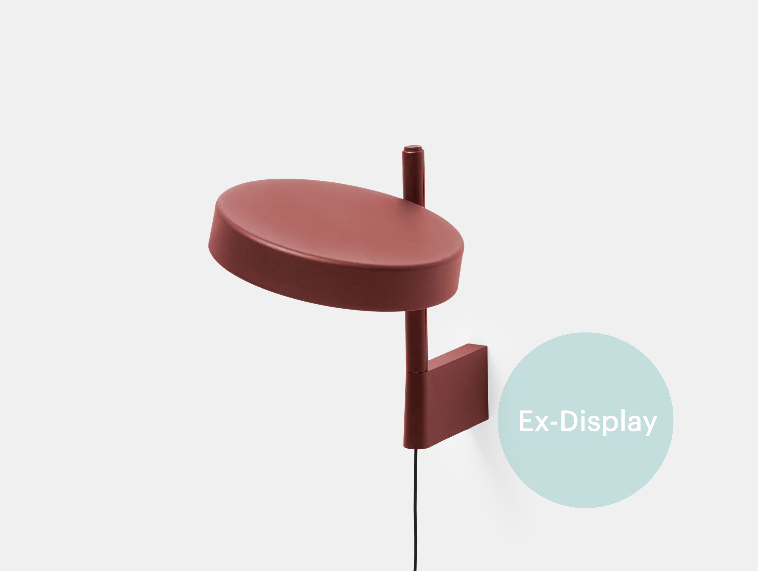 Wastberg W182 Pastille Wall Lamp short red ex display