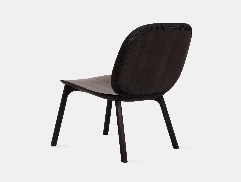 Zanat Unna Lounge Chair Maple Black Monica Forster