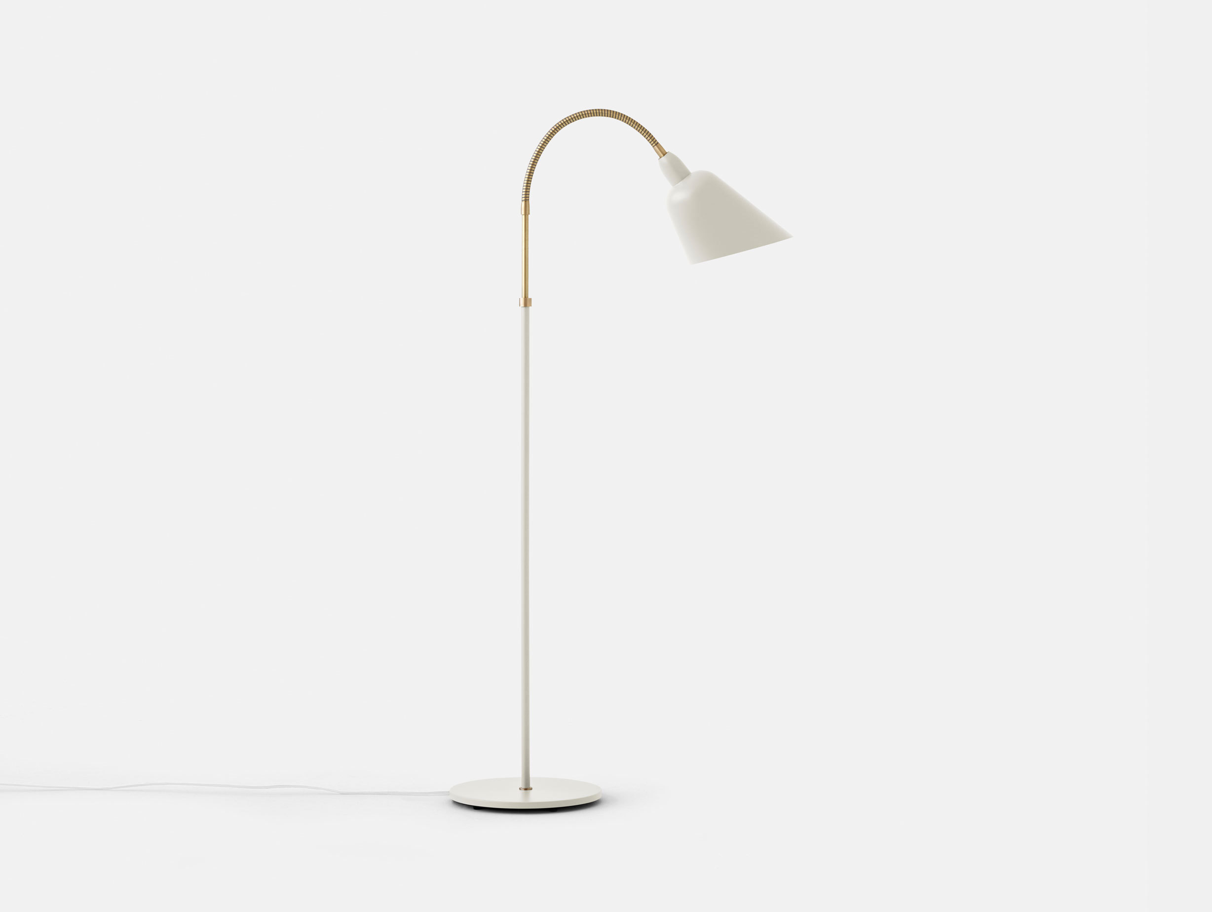 And Tradition Bellevue Floor Lamp White Arne Jacobsen