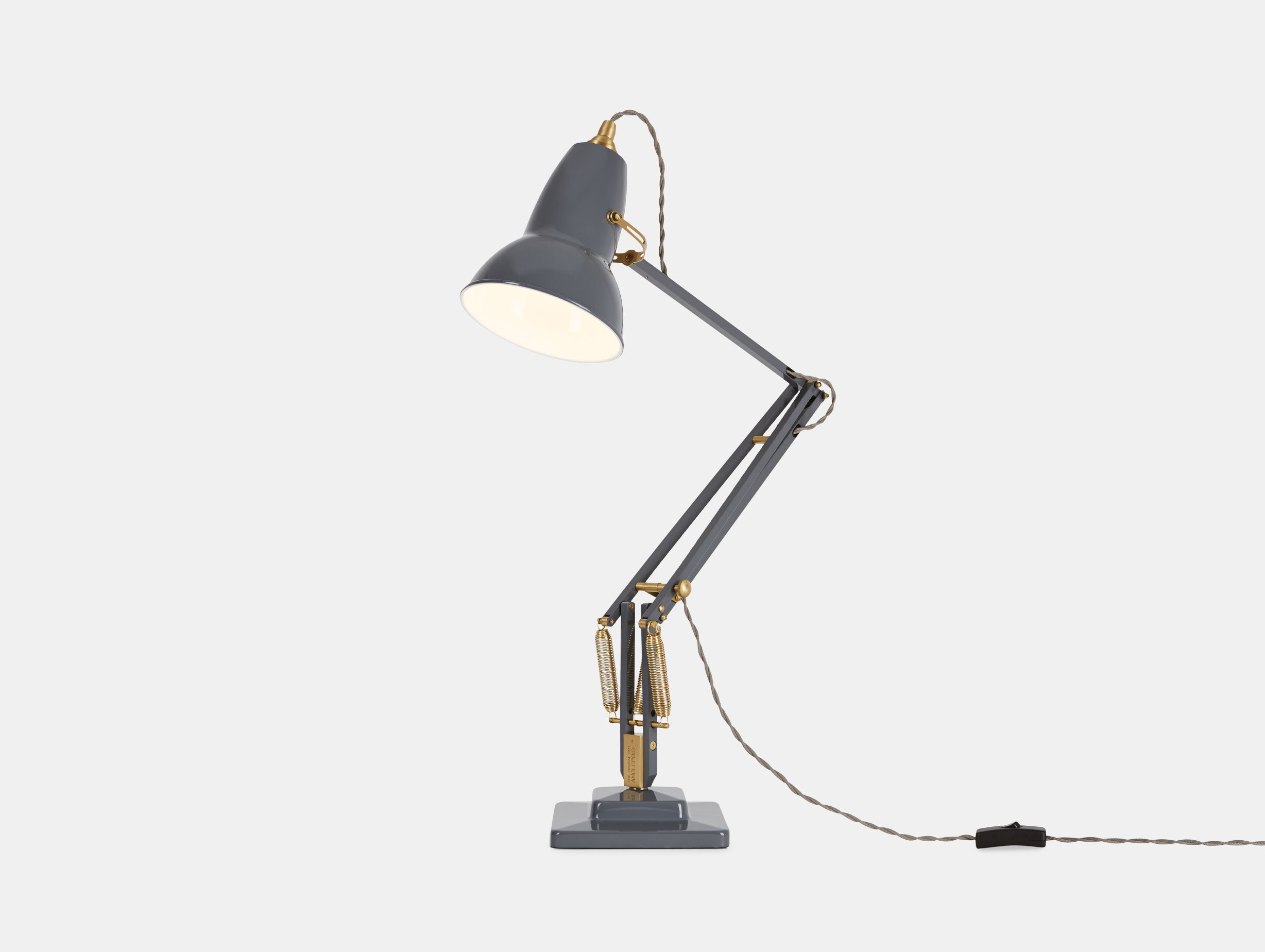 Anglepoise 1227 Brass Table Lamp image 1