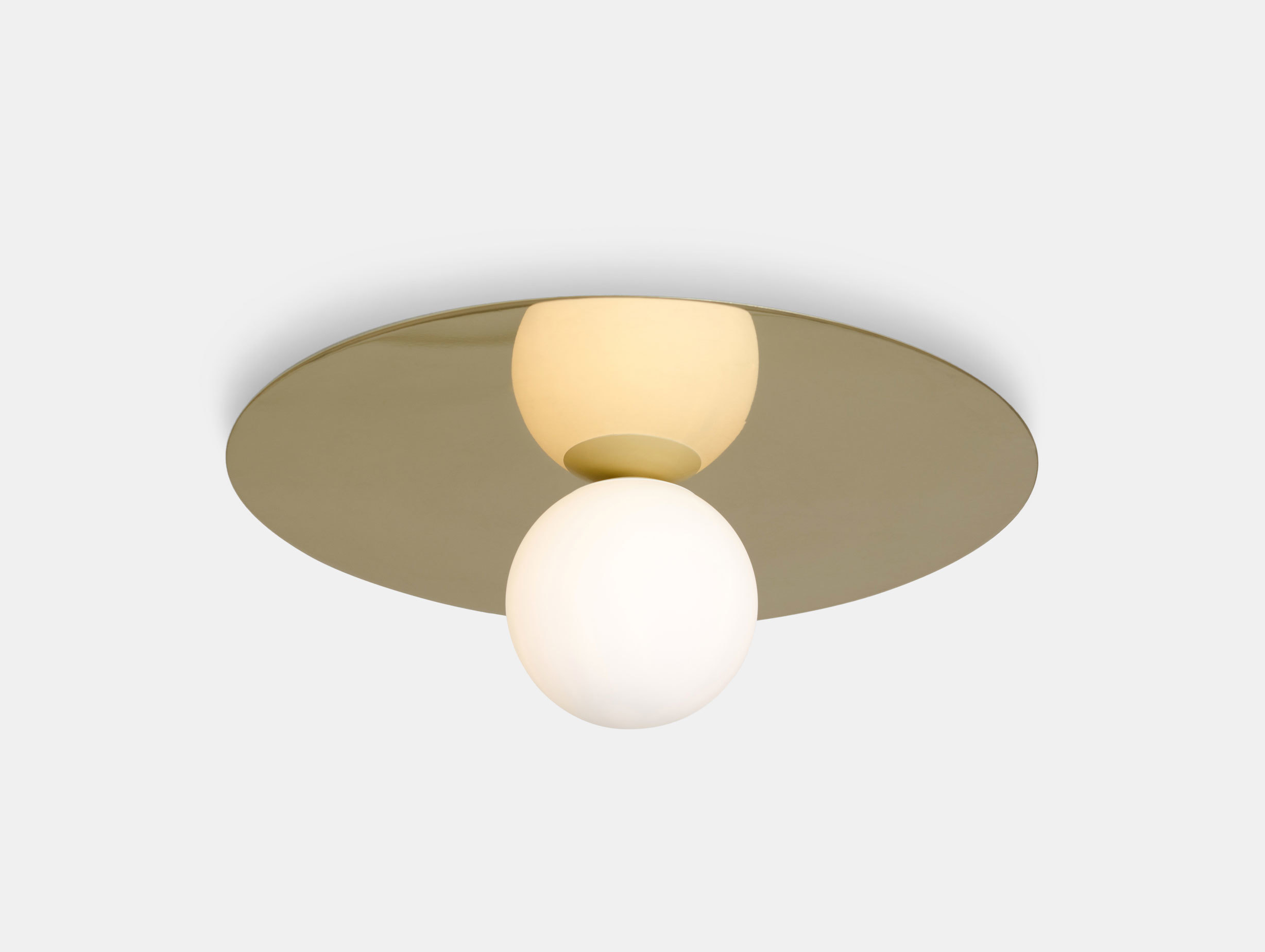 Atelier Areti Plate And Sphere Ceiling Light Gwendolyn Guillane Kerschbaumer