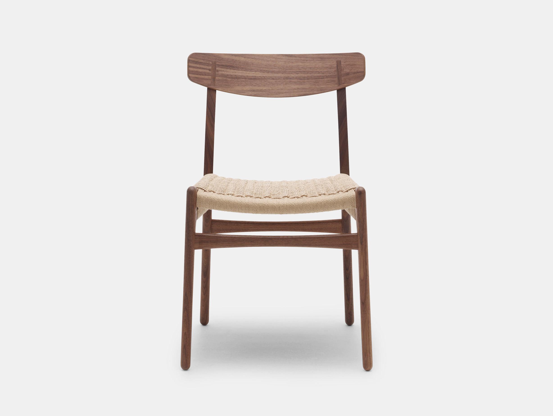 Carl Hansen Ch23 Chair Walnut Oil Hans Wegner