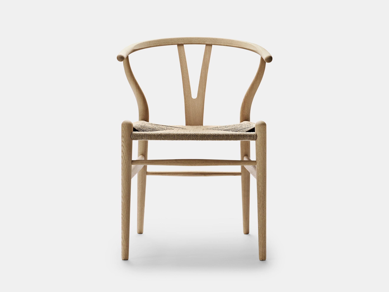 Carl Hansen Ch24 Wishbone Chair Oak Soap Natural Paper Cord Hans Wegner
