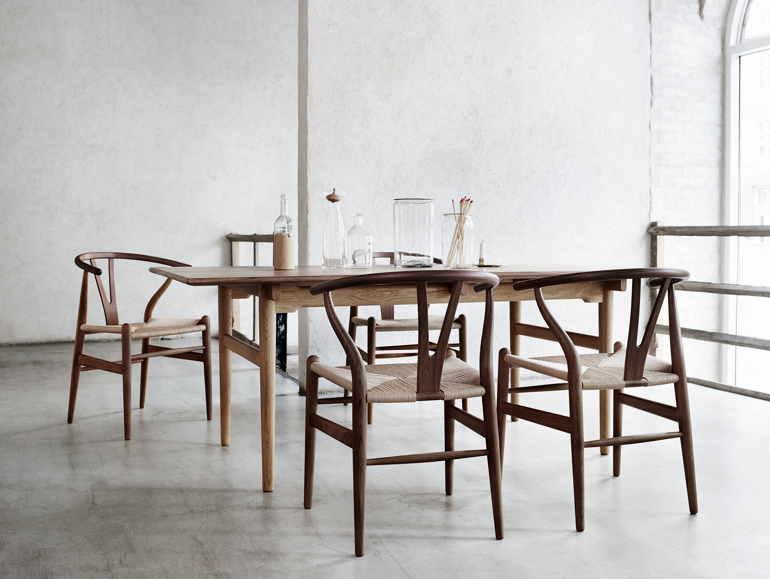 Carl Hansen Ch24 Wishbone Chair Walnut Hans Wegner