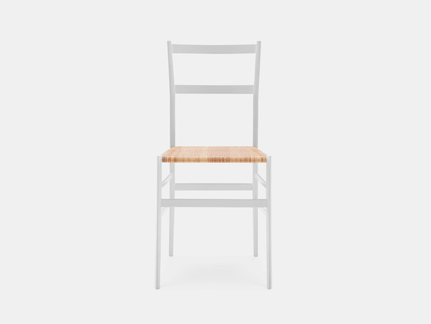 Cassina Superleggera Chair White Ash Gio Ponti
