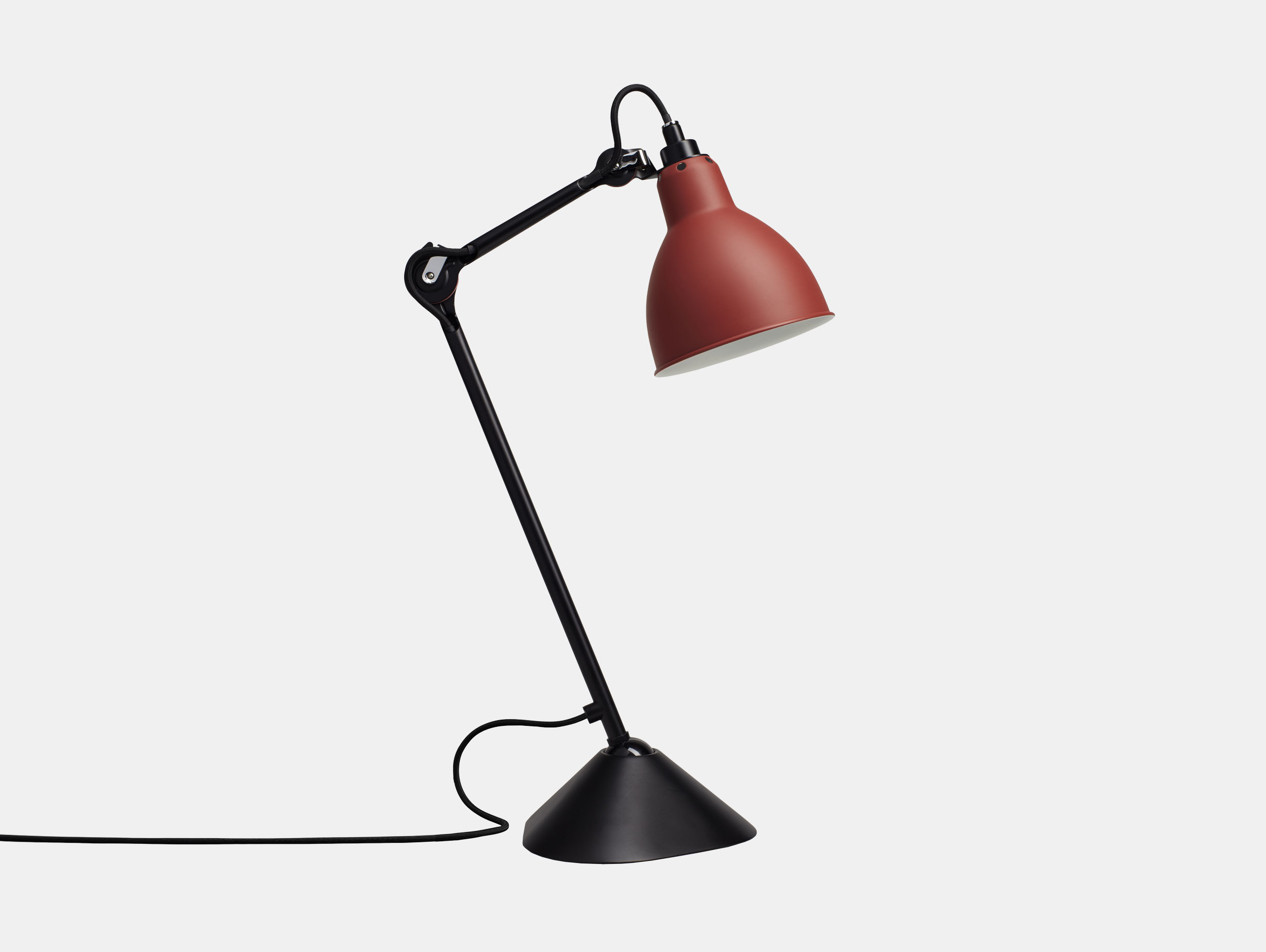 Dcw Lampe Gras No 205 Table Lamp Red Bernard Albin Gras