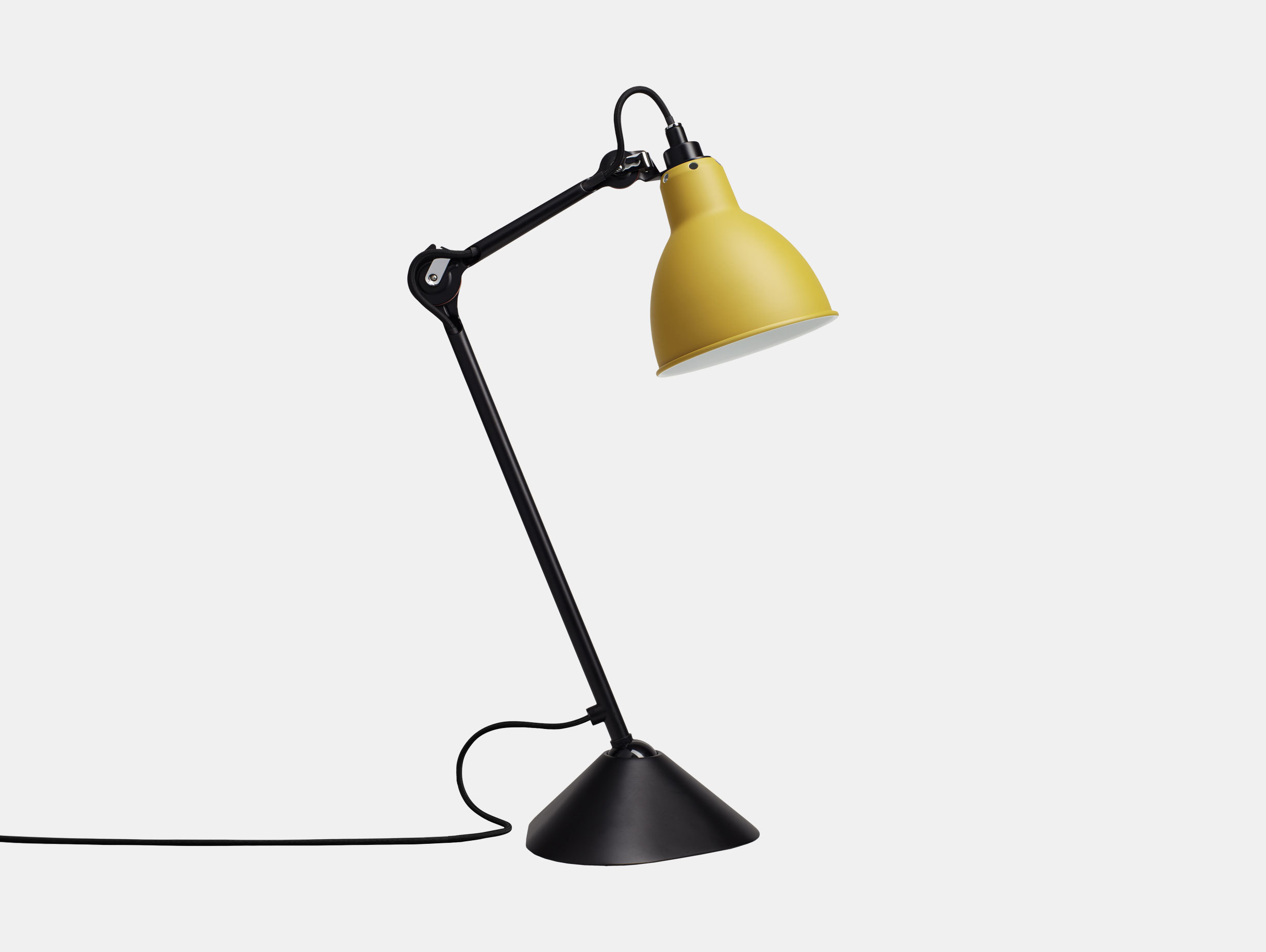 Dcw Lampe Gras No 205 Table Lamp Yellow Bernard Albin Gras