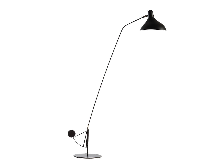 Dcw Mantis Bs1 B Floor Lamp Black Bernard Schottlander