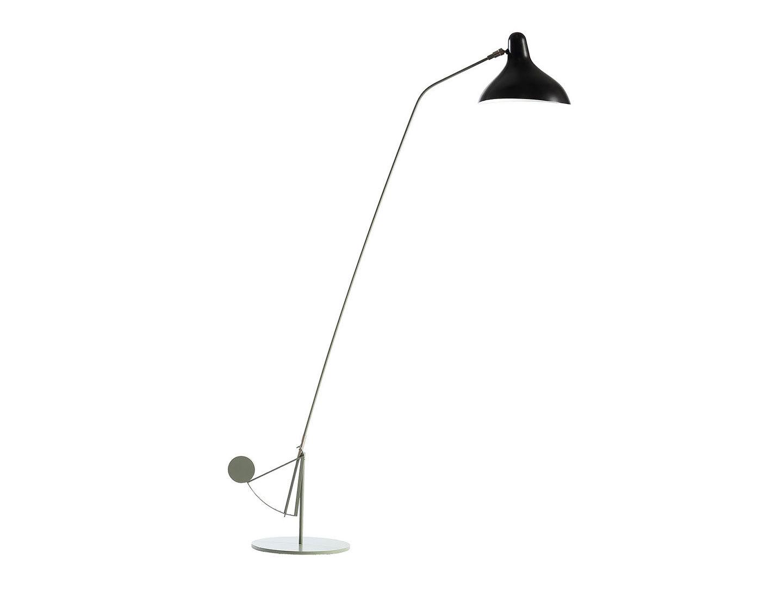 Dcw Mantis Bs1 B Floor Lamp Grey Black Bernard Schottlander