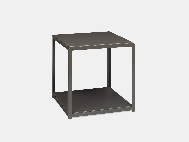 E15 Fortyforty Side Table With Umbra Grey Base Ferdinand Kramer