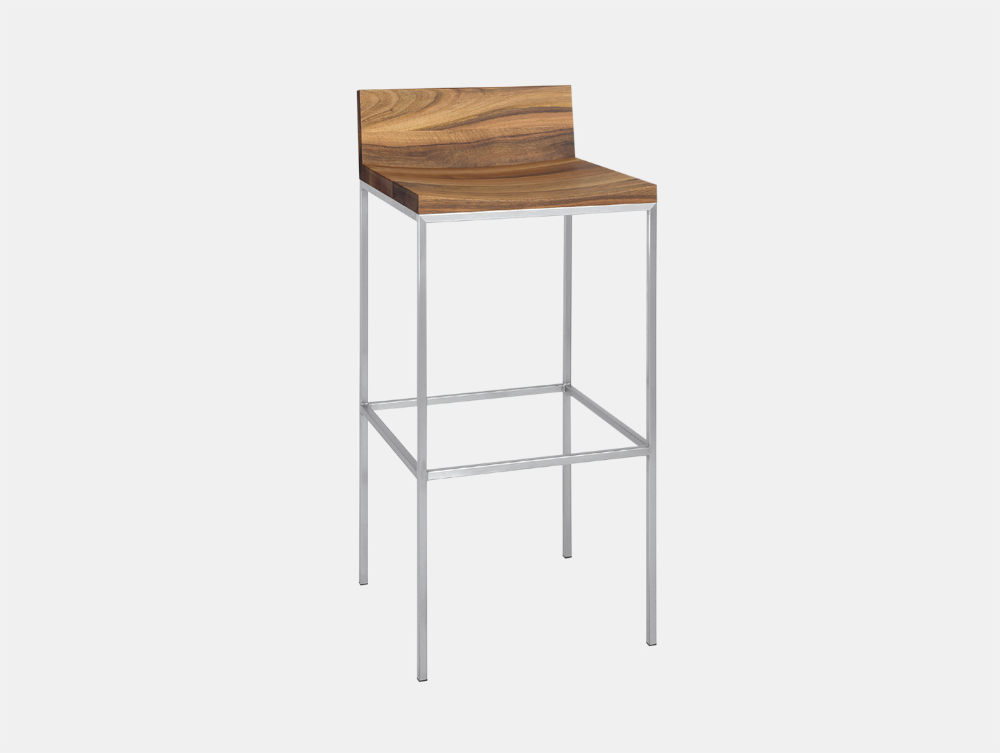 Grace Stool with Backrest image 1
