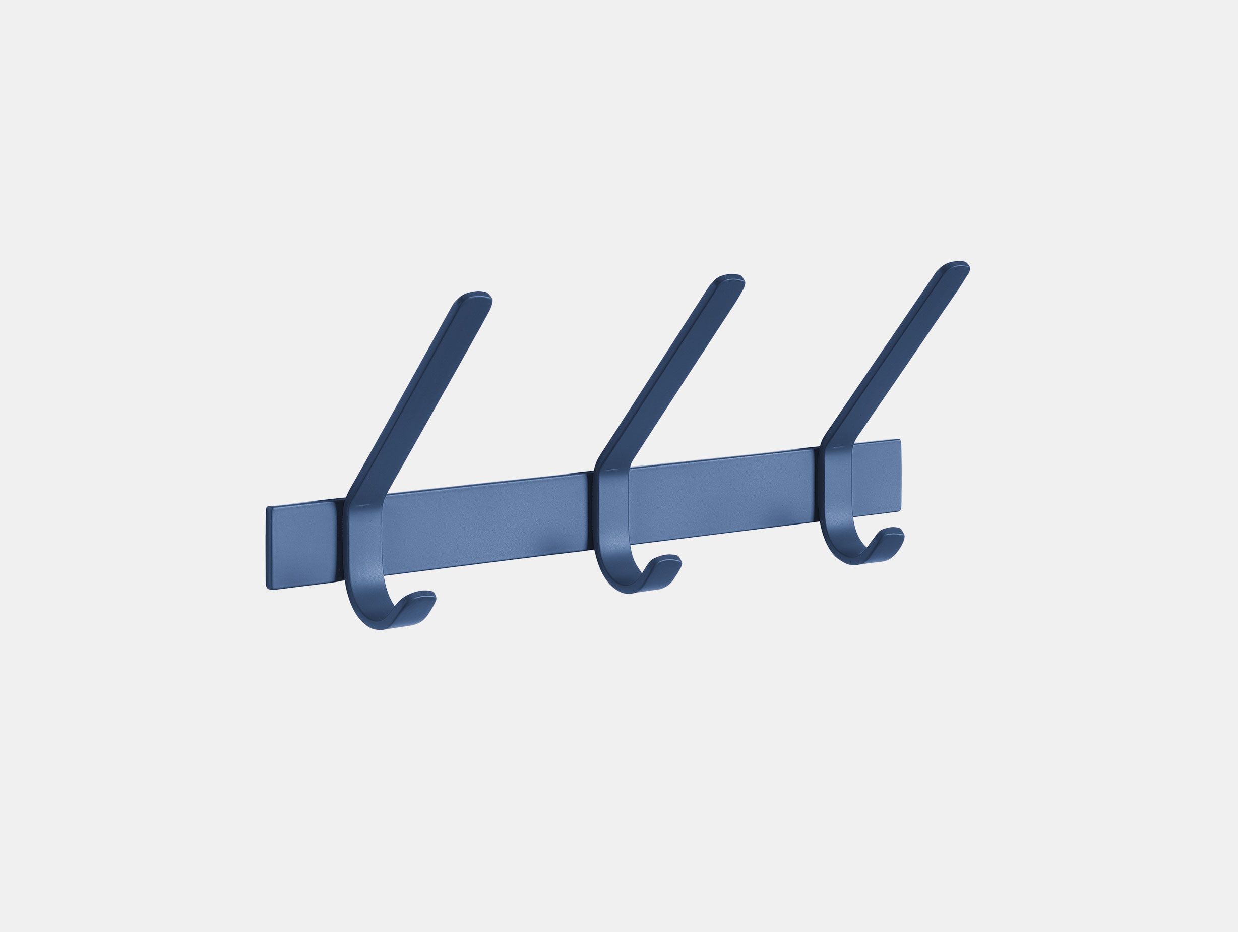 E15 Uni Coat Rack 3 Hook Navy Ferdinand Kramer