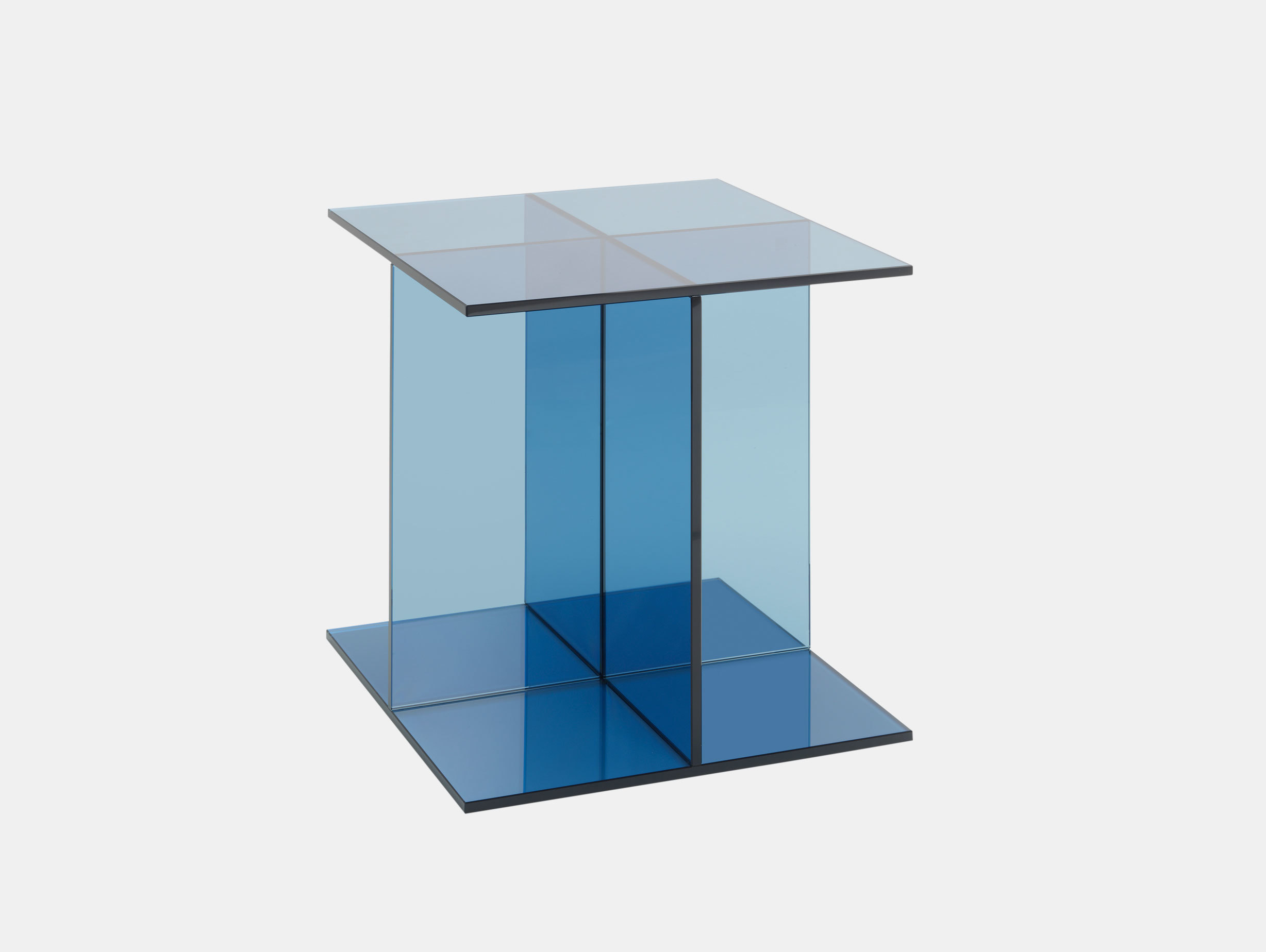 E15 Vier Side Table Blue Philipp Mainzer