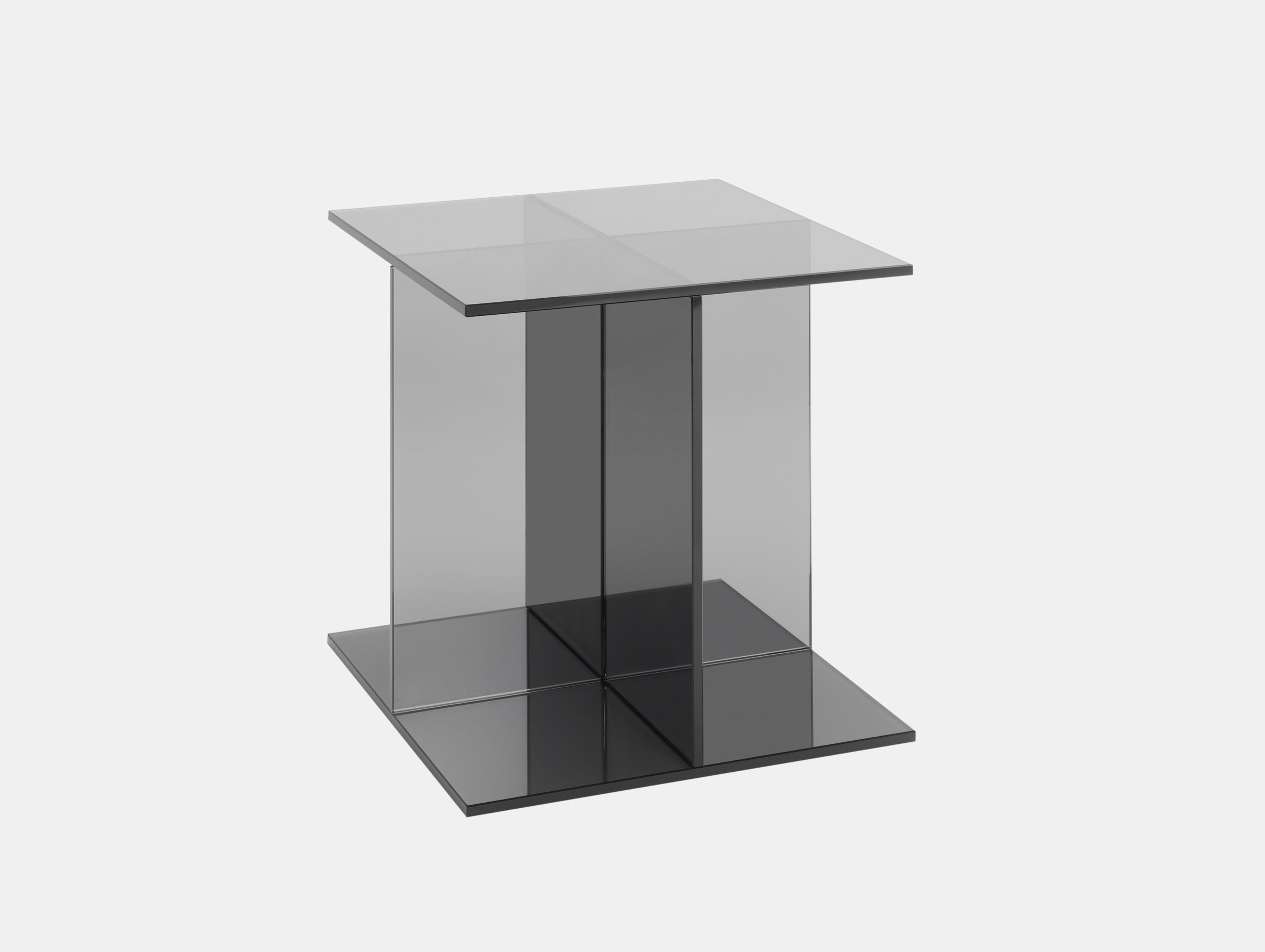 E15 Vier Side Table Grey Philipp Mainzer