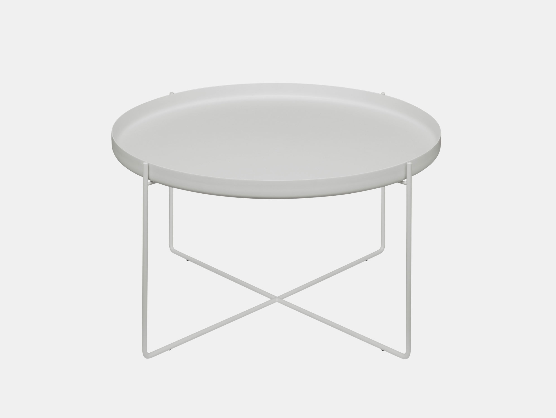 E15 Habibi Side Table White Philipp Mainzer
