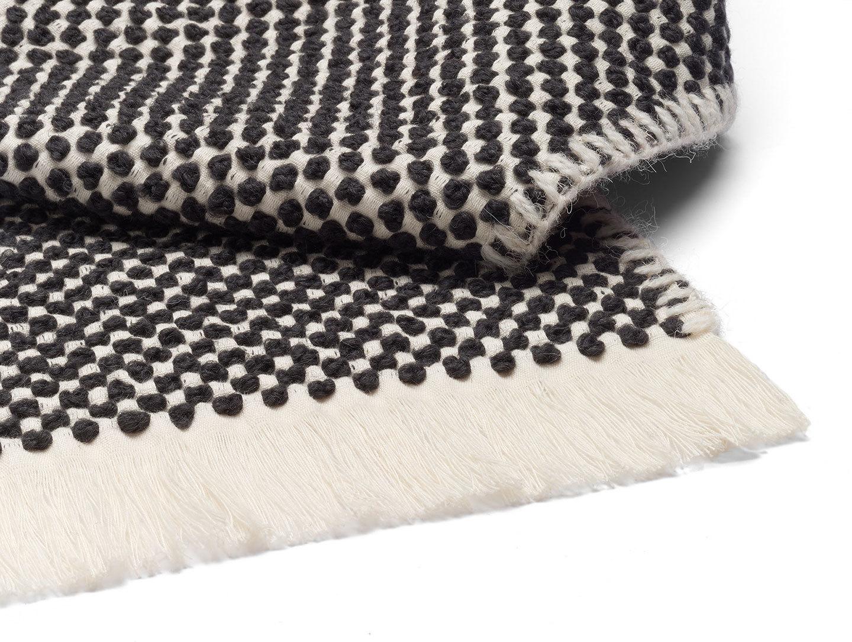 E15 Dotto Blanket Black Detail