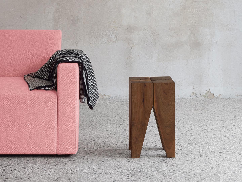 E15 Tramato Blanket Black Pink Kerman Dagmar Heinrich
