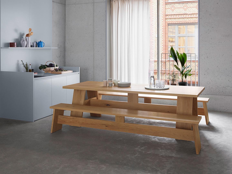 E15 Fayland Table Oak Kitchen David Chipperfield