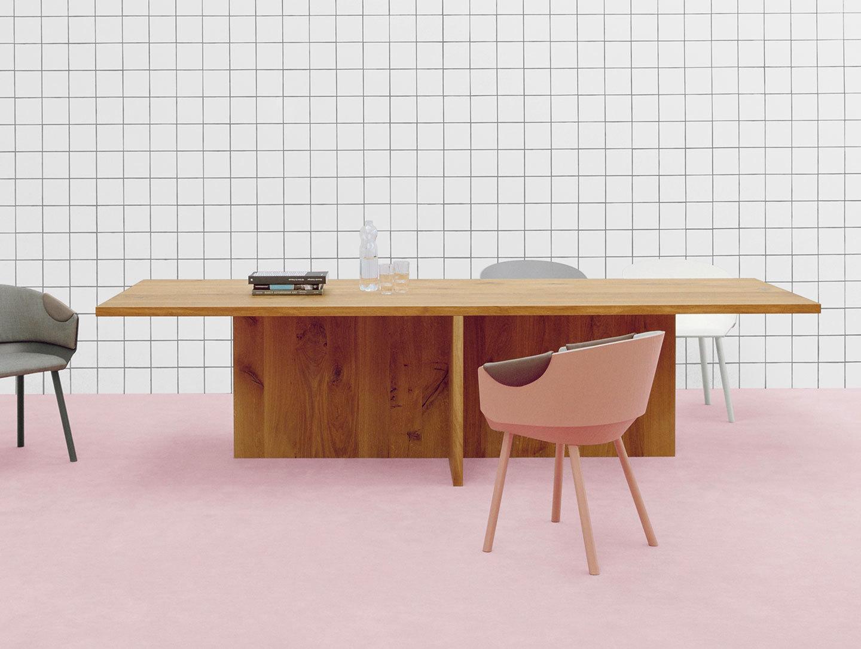E15 Zehn Oak Table 2