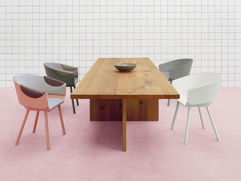 E15 Zehn Oak Table