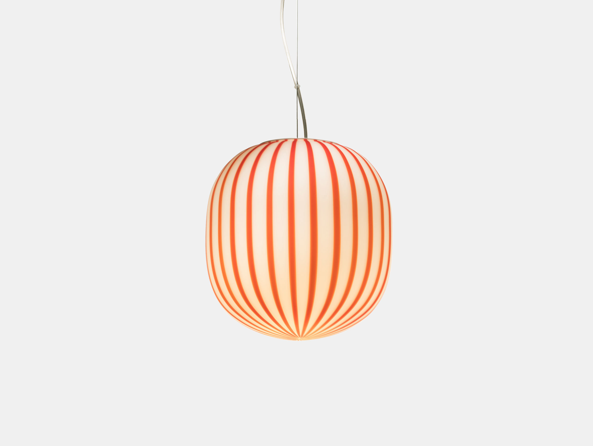 Established And Sons Filigrana S2 Red Canes Pendant Light Sebastian Wrong