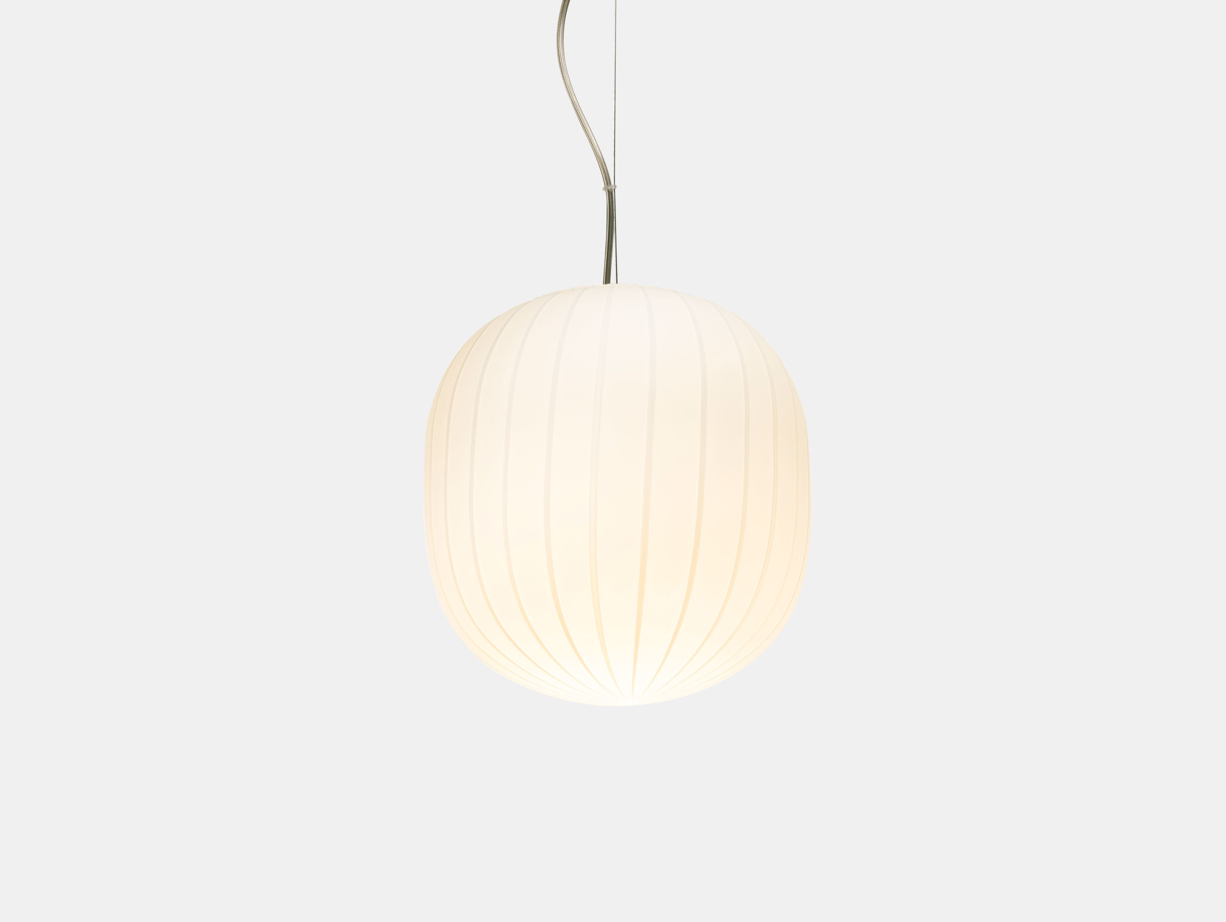 Established And Sons Filigrana S2 White Canes Pendant Light Sebastian Wrong