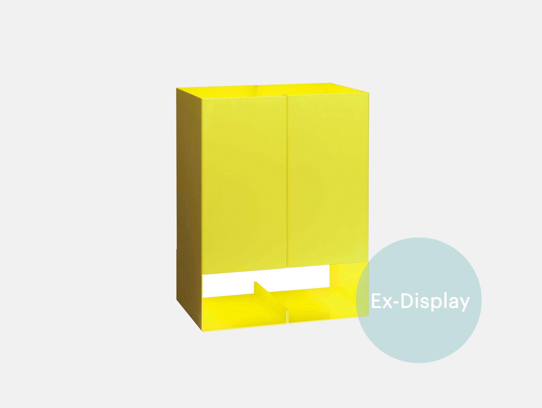E15 Seam Two Table Light Sulfur Yellow Ex Display