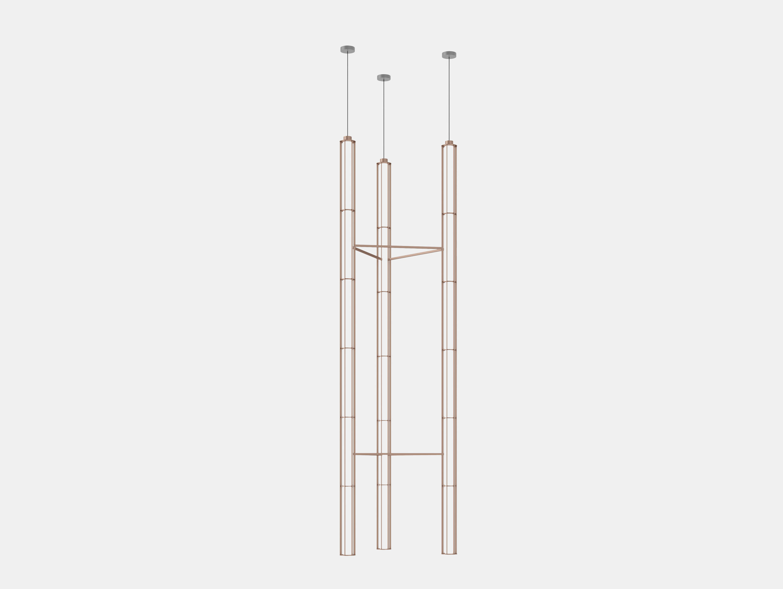 Flos Verticale Suspension Light Triple Ronan Erwan Bouroullec