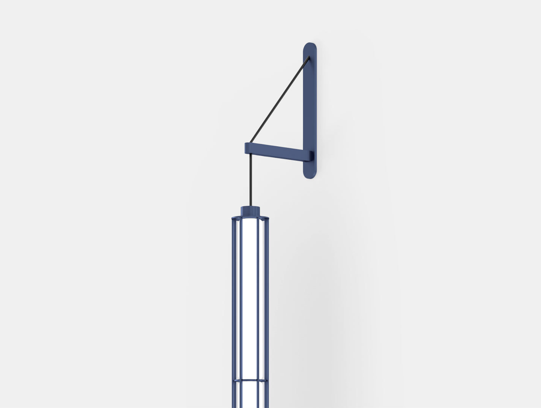 Flos Verticale Suspension Wall Light Detail Ronan Erwan Bouroullec