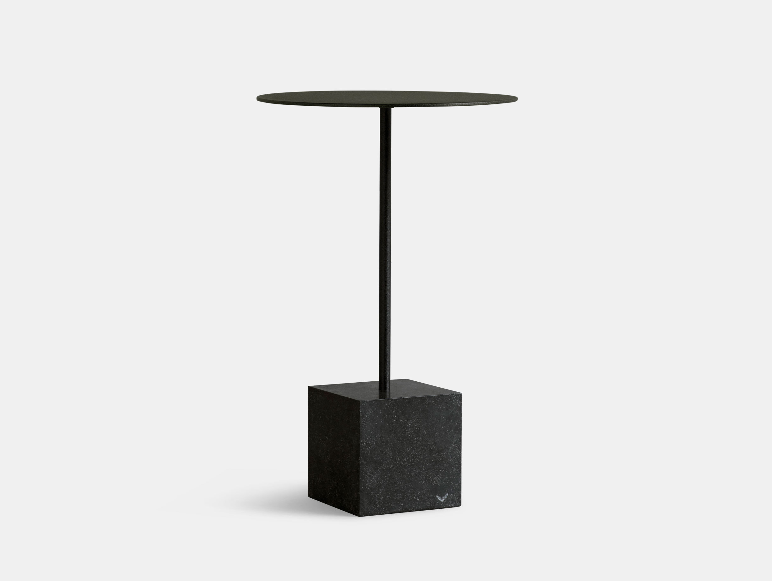 Friends Founders Knockout Side Table Square Black Ida Linea Hildebrand