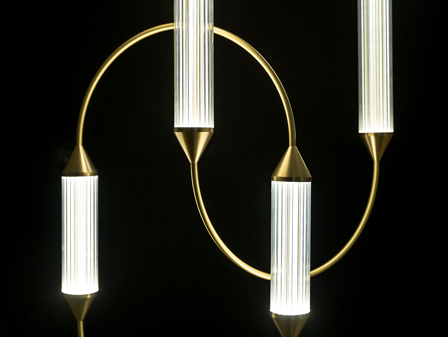 Giopato And Coombes Cirque Pendant Light Detail