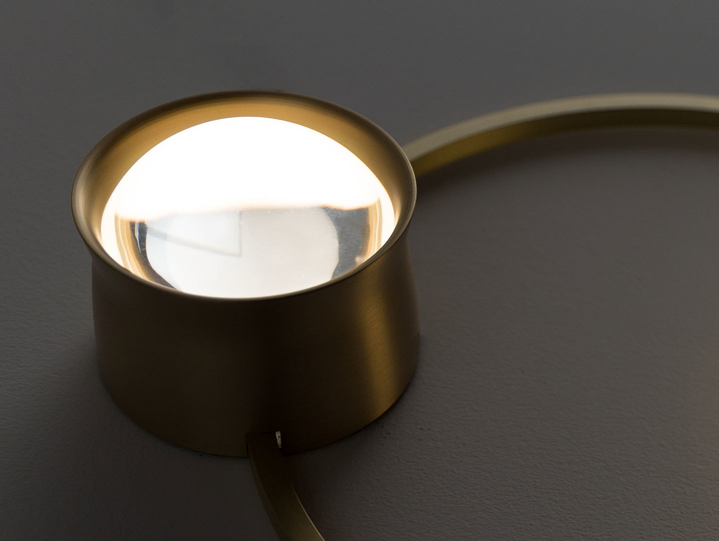 Giopato And Coombes Gioielli Wall Light Lens Detail