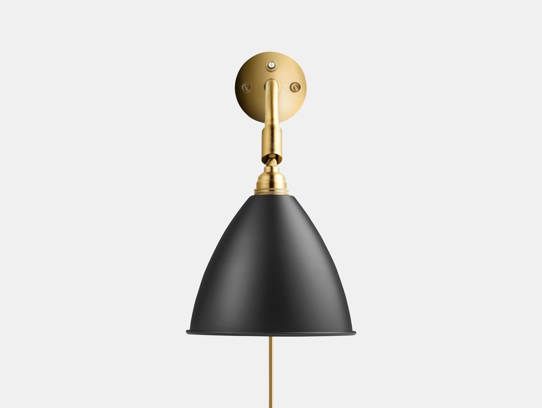 Gubi Bl7 Bestlite Wall Lamp Brass Black Robert Dudley Best