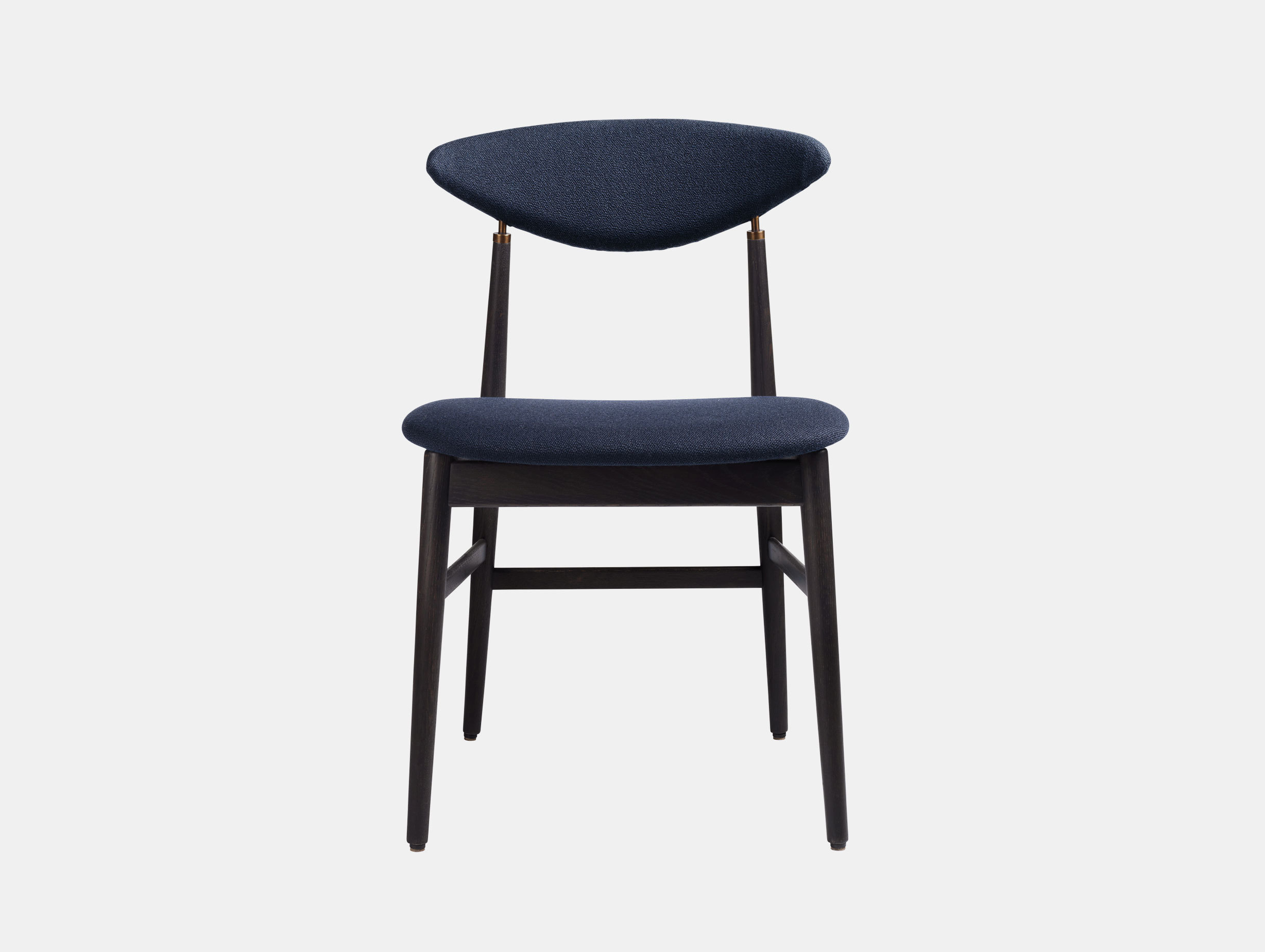 Gubi Gent Dining Chair Black Vidar 554 Gam Fratesi