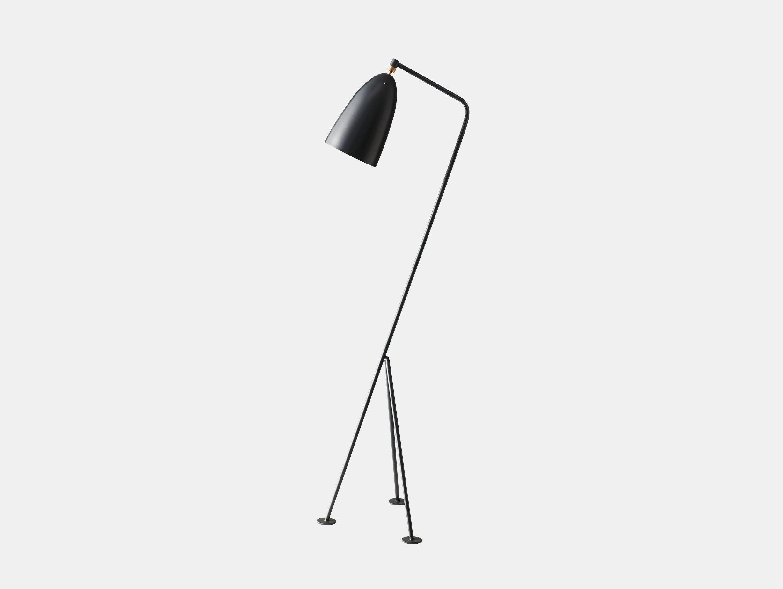 Gubi Grasshopper Floor Lamp Anthracite Greta Grossman