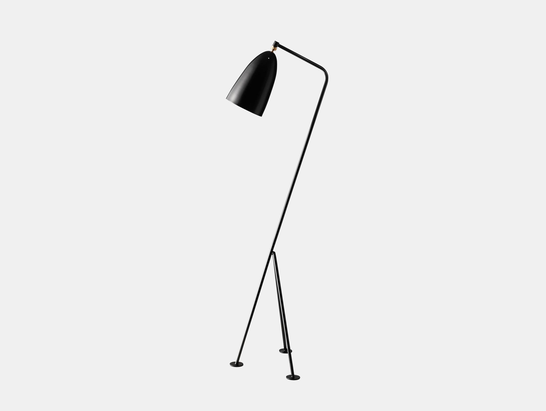 Gubi Grasshopper Floor Lamp Black Greta Grossman