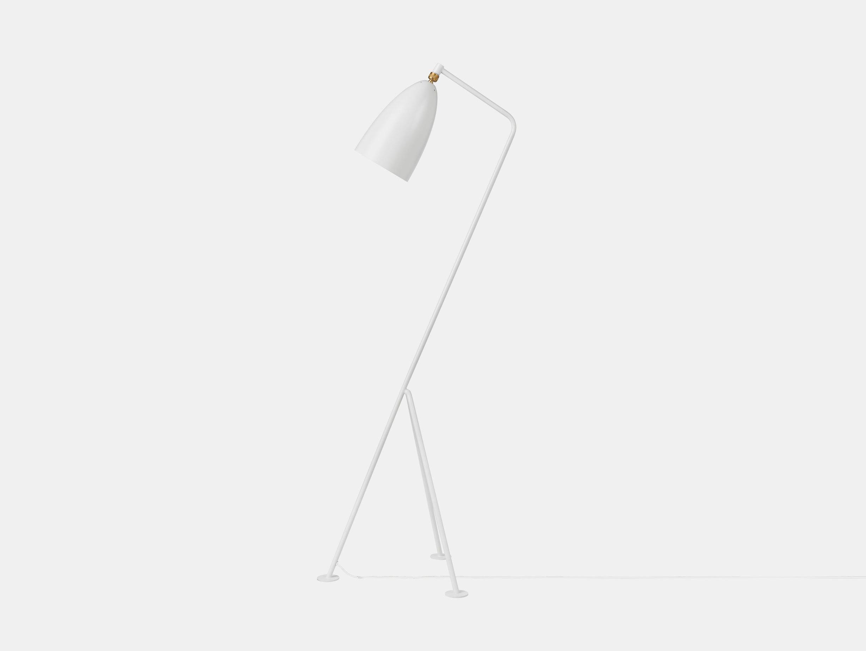 Gubi Grasshopper Floor Lamp White Greta Grossman