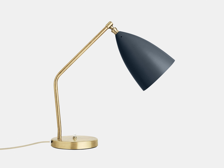 Gubi Grasshopper Table Lamp Anthracite Greta Grossman