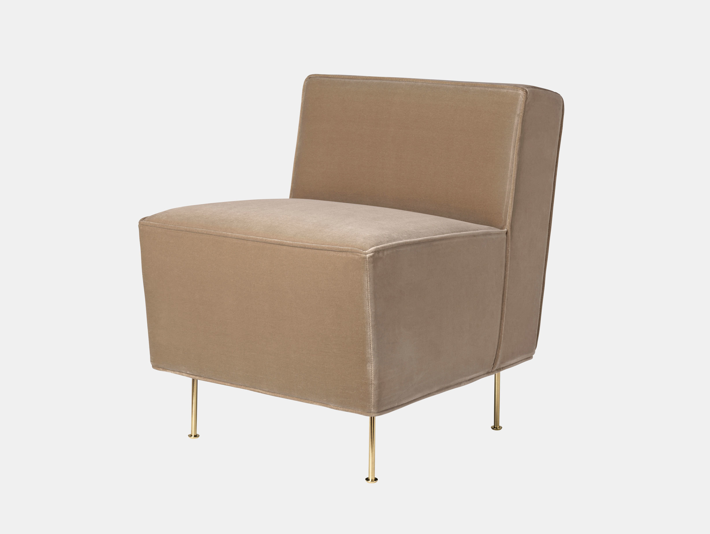 Modern Line Dining Height Lounge Chair image 1