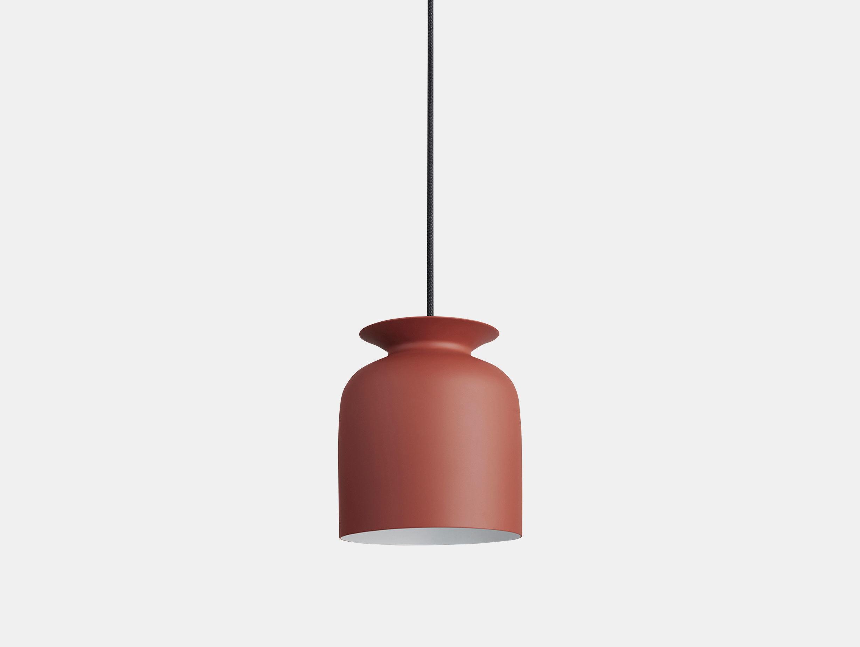 Gubi Ronde Pendant Lamp 20 Red Oliver Schick