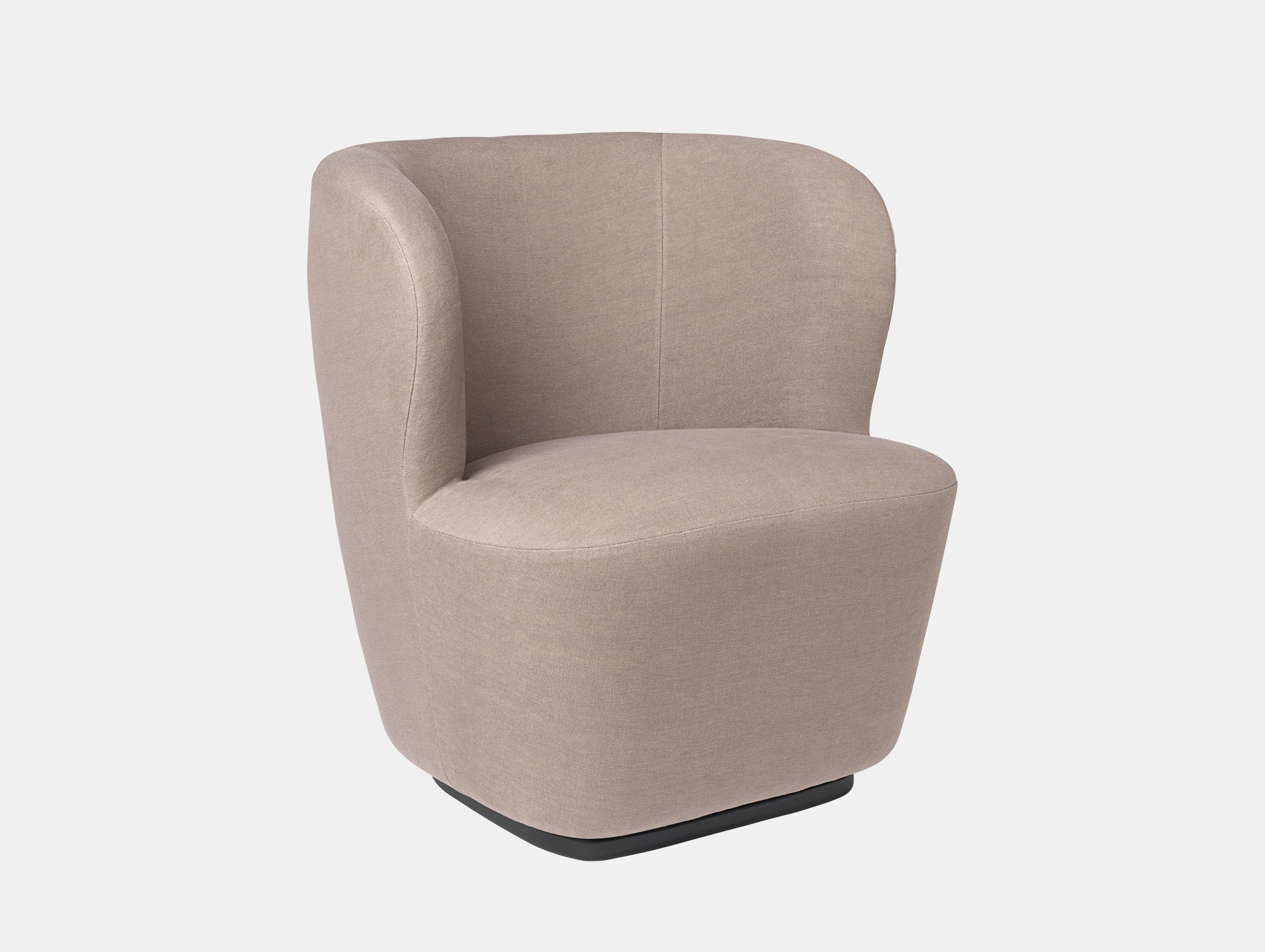 Gubi Stay Lounge Chair Bel Lino 77 Space Copenhagen