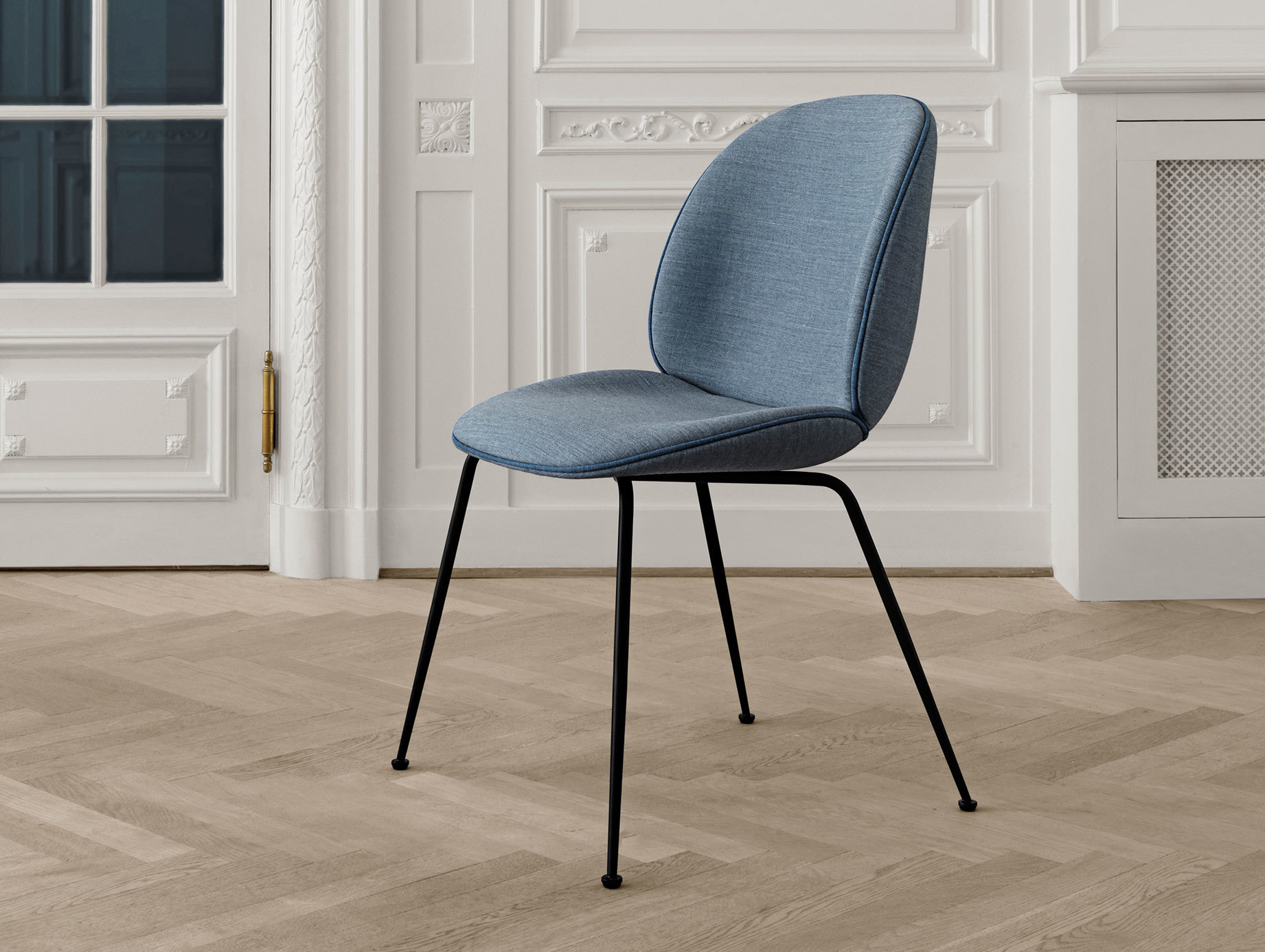 Gubi Beetle Chair Blue