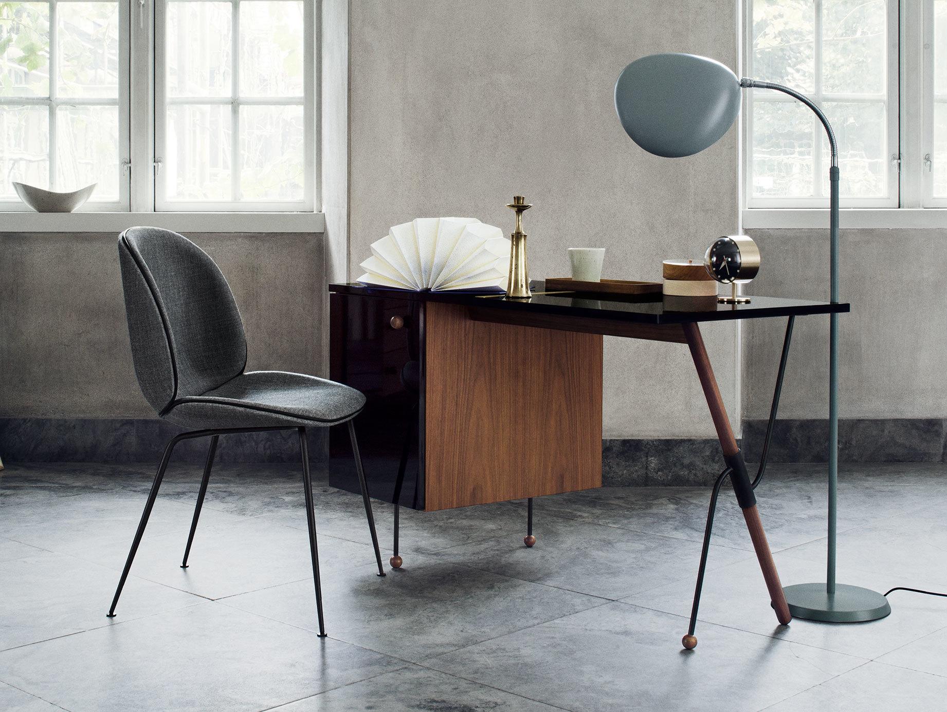 Gubi Beetle Chair Grossman Desk Cobra Floor Lamp