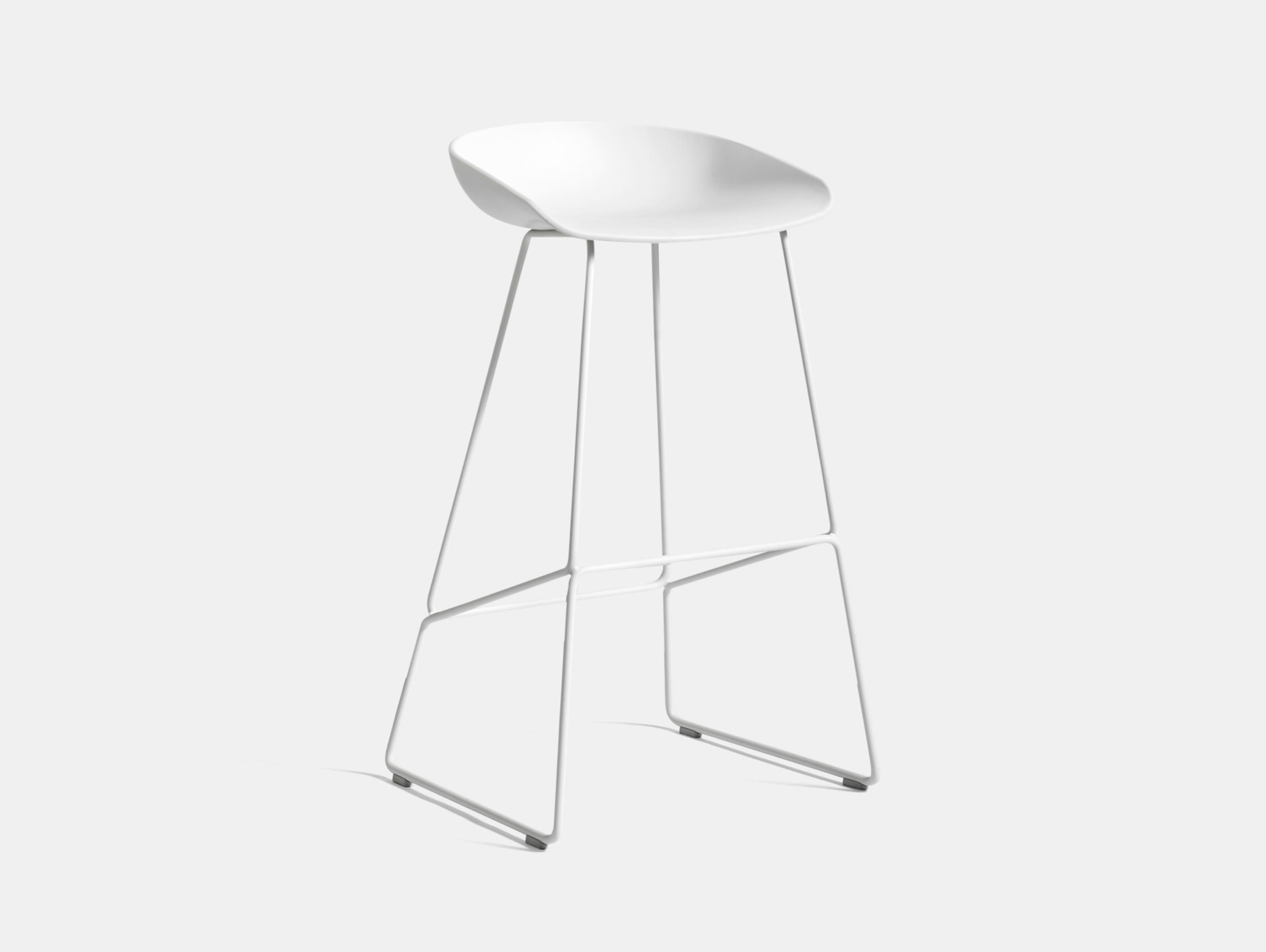 Hay Aas38 Stool H75 White Base White Hee Welling