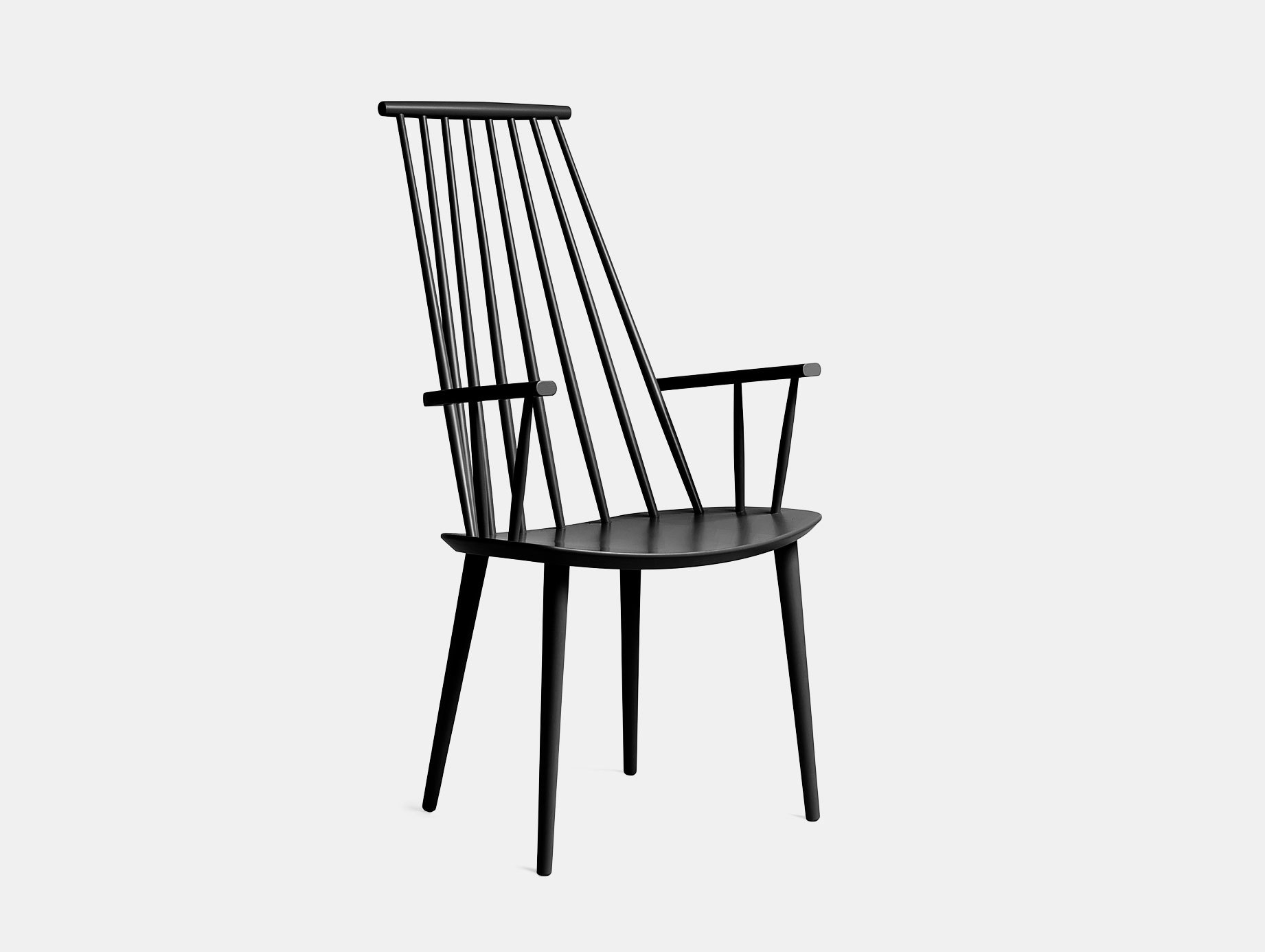 Hay J110 Chair Black Poul M  Volther
