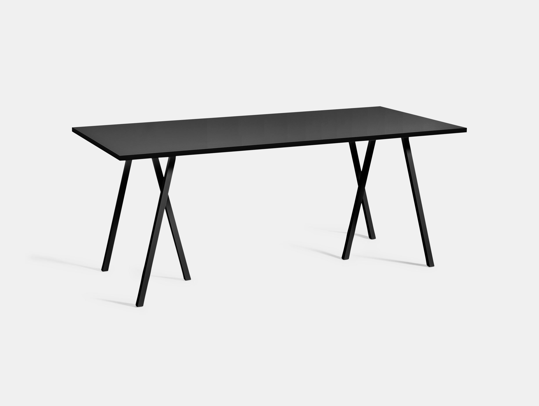 Hay Loop Stand Table L180 Black Leif Jorgensen