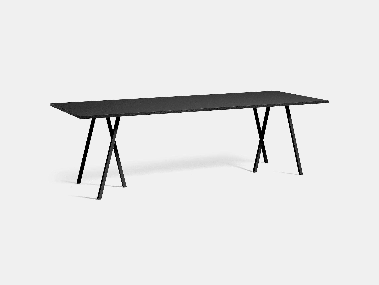 Hay Loop Stand Table L250 Black Leif Jorgensen