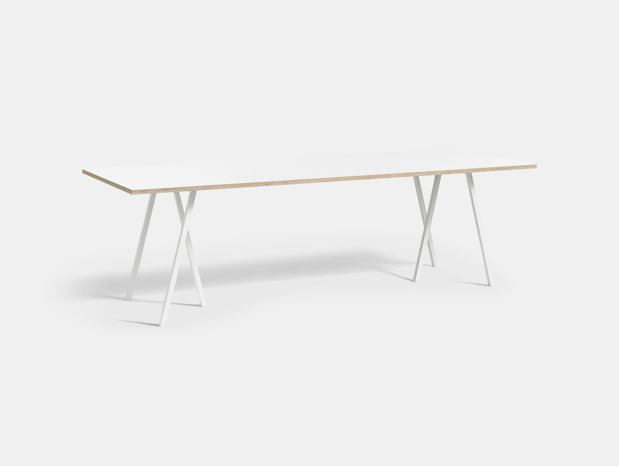 Hay Loop Stand Table L250 White Leif Jorgensen