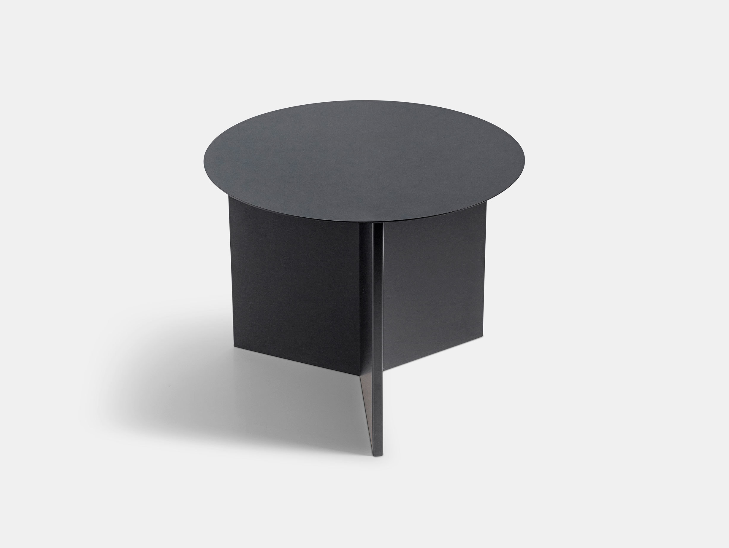 Hay Slit Table Round Black