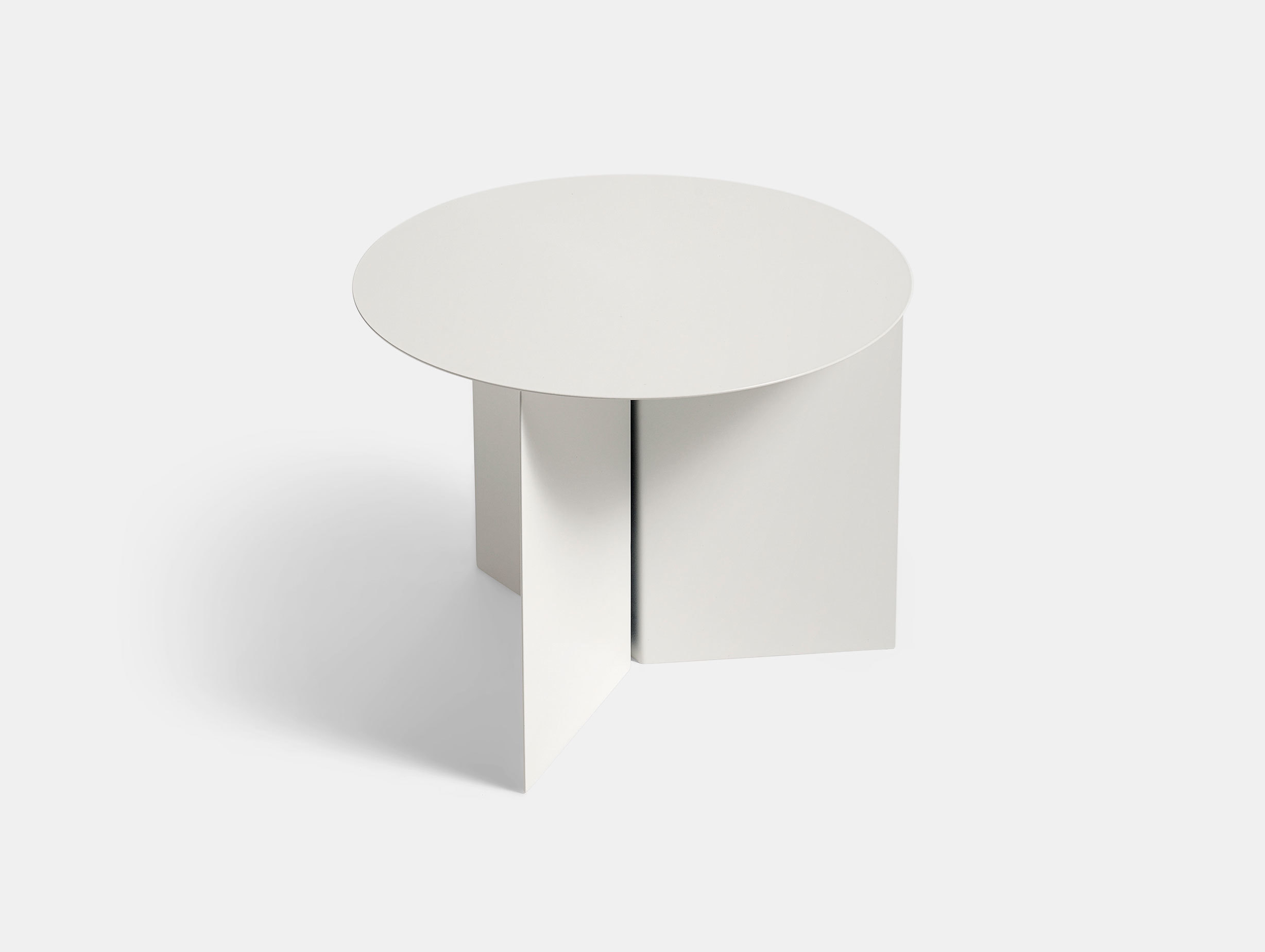 Hay Slit Table Round White